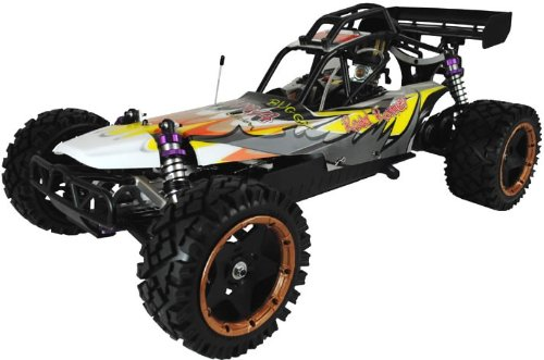 coche RC gasolina buggy