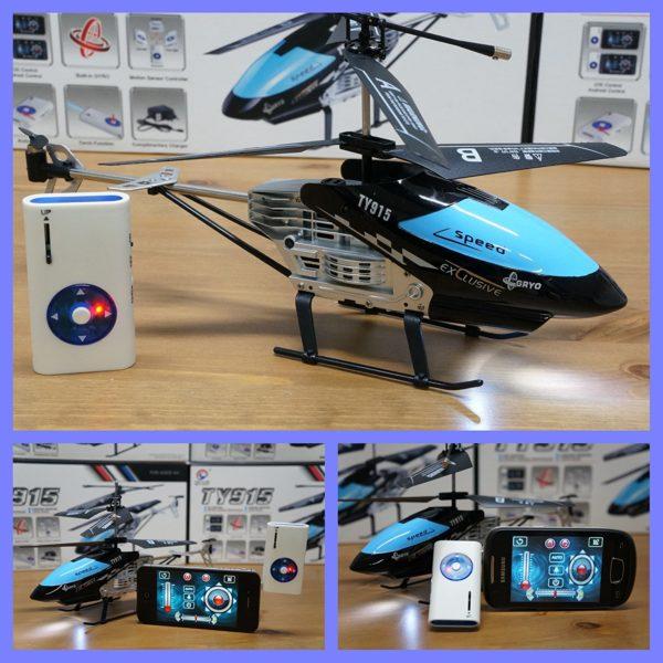 helicoptero radiocontrol movil