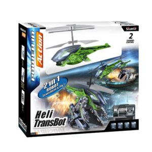 helicoptero RC transformer robot