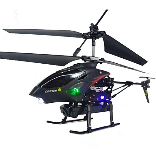 helicoptero metal camara