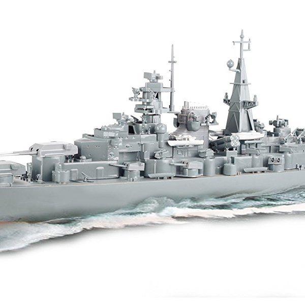 barco de guerra teledirigido