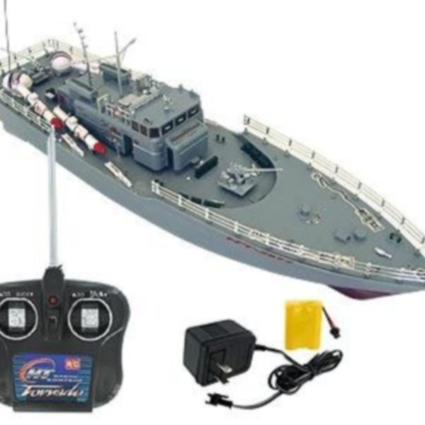 lancha torpedera radiocontrol
